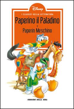 Copertina CLASSICI LETT.DISNEY II SERIE n.25 - Paperino il Paladino, CORRIERE DELLA SERA