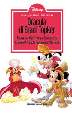 Copertina CLASSICI LETT.DISNEY II SERIE n.36 - Dracula di Bram Topker, CORRIERE DELLA SERA