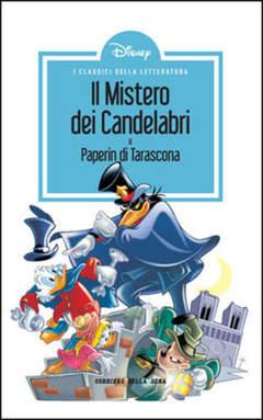 Copertina CLASSICI LETT.DISNEY II SERIE n.9 - Il mistero dei candelabri, CORRIERE DELLA SERA