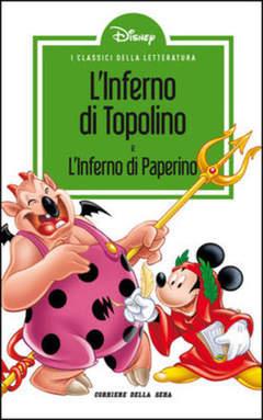 Copertina CLASSICI LETT.DISNEY II SERIE n.7 - L'inferno di Topolino, CORRIERE DELLA SERA
