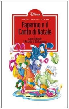 Copertina CLASSICI LETT.DISNEY II SERIE n.1 - Paperino e il canto di Natale, CORRIERE DELLA SERA