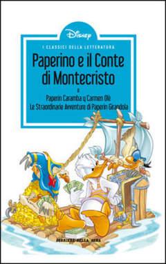 Copertina CLASSICI LETT.DISNEY II SERIE n.5 - Paperino e il conte di Montecristo, CORRIERE DELLA SERA