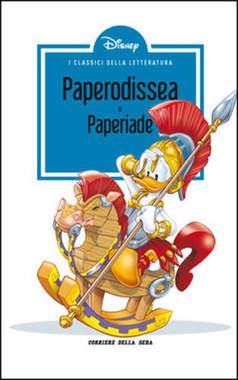 Copertina CLASSICI LETT.DISNEY II SERIE n.2 - Paperodissea, CORRIERE DELLA SERA
