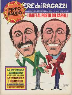 Copertina CORRIERE DEI RAGAZZI 1972 n.16 - CORRIERE DEI RAGAZZI 1972   16, CORRIERE DELLA SERA
