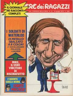 Copertina CORRIERE DEI RAGAZZI 1972 n.25 - CORRIERE DEI RAGAZZI 1972   25, CORRIERE DELLA SERA