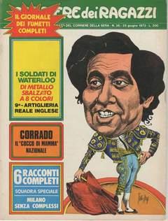 Copertina CORRIERE DEI RAGAZZI 1972 n.26 - CORRIERE DEI RAGAZZI 1972   26, CORRIERE DELLA SERA