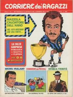 Copertina CORRIERE DEI RAGAZZI 1972 n.2 - CORRIERE DEI RAGAZZI 1972    2, CORRIERE DELLA SERA