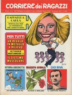 Copertina CORRIERE DEI RAGAZZI 1972 n.3 - CORRIERE DEI RAGAZZI 1972    3, CORRIERE DELLA SERA