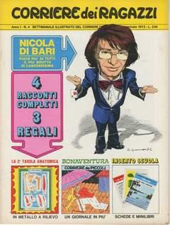Copertina CORRIERE DEI RAGAZZI 1972 n.4 - CORRIERE DEI RAGAZZI 1972    4, CORRIERE DELLA SERA
