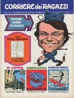 Copertina CORRIERE DEI RAGAZZI 1972 n.5 - CORRIERE DEI RAGAZZI 1972    5, CORRIERE DELLA SERA