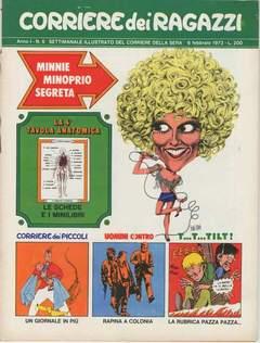 Copertina CORRIERE DEI RAGAZZI 1972 n.6 - CORRIERE DEI RAGAZZI 1972    6, CORRIERE DELLA SERA