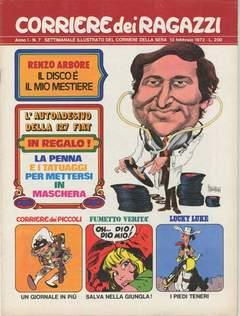Copertina CORRIERE DEI RAGAZZI 1972 n.7 - CORRIERE DEI RAGAZZI 1972    7, CORRIERE DELLA SERA