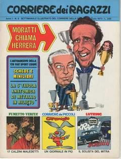 Copertina CORRIERE DEI RAGAZZI 1972 n.8 - CORRIERE DEI RAGAZZI 1972    8, CORRIERE DELLA SERA