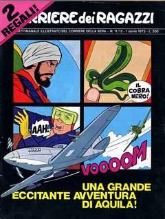 Copertina CORRIERE DEI RAGAZZI 1973 n.11 - NEMERO 11/12, CORRIERE DELLA SERA