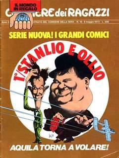 Copertina CORRIERE DEI RAGAZZI 1973 n.18 - CORRIERE DEI RAGAZZI 1973   18, CORRIERE DELLA SERA