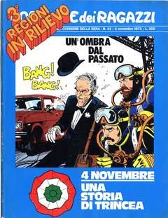 Copertina CORRIERE DEI RAGAZZI 1973 n.44 - CORRIERE DEI RAGAZZI 1973   44, CORRIERE DELLA SERA