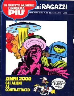 Copertina CORRIERE DEI RAGAZZI 1973 n.52 - CORRIERE DEI RAGAZZI 1973   52, CORRIERE DELLA SERA