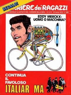Copertina CORRIERE DEI RAGAZZI 1973 n.9 - NUMERO 9/10, CORRIERE DELLA SERA