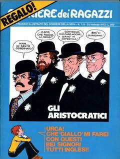 Copertina CORRIERE DEI RAGAZZI 1973 n.7 - NUMERO 6/7, CORRIERE DELLA SERA