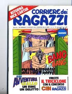 Copertina CORRIERE DEI RAGAZZI 1974 n.13 - CORRIERE DEI RAGAZZI 1974   13, CORRIERE DELLA SERA