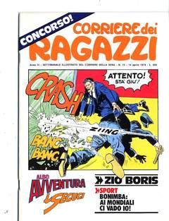 Copertina CORRIERE DEI RAGAZZI 1974 n.15 - CORRIERE DEI RAGAZZI 1974   15, CORRIERE DELLA SERA