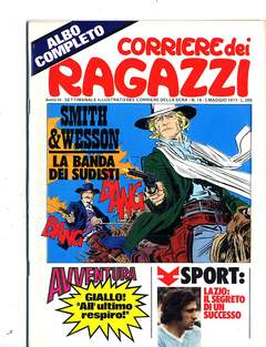 Copertina CORRIERE DEI RAGAZZI 1974 n.18 - CORRIERE DEI RAGAZZI 1974   18, CORRIERE DELLA SERA