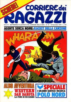 Copertina CORRIERE DEI RAGAZZI 1974 n.45 - CORRIERE DEI RAGAZZI 1974   45, CORRIERE DELLA SERA
