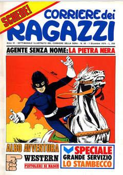 Copertina CORRIERE DEI RAGAZZI 1974 n.48 - CORRIERE DEI RAGAZZI 1974   48, CORRIERE DELLA SERA