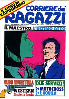Copertina CORRIERE DEI RAGAZZI 1974 n.51 - CORRIERE DEI RAGAZZI 1974   51, CORRIERE DELLA SERA