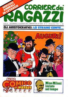 Copertina CORRIERE DEI RAGAZZI 1974 n.52 - CORRIERE DEI RAGAZZI 1974   52, CORRIERE DELLA SERA