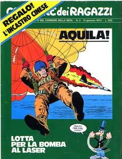 Copertina CORRIERE DEI RAGAZZI 1974 n.2 - CORRIERE DEI RAGAZZI 1974    2, CORRIERE DELLA SERA