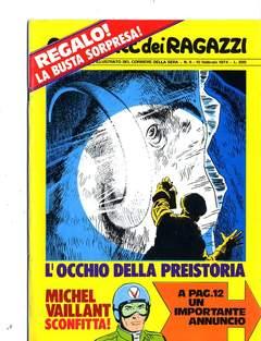 Copertina CORRIERE DEI RAGAZZI 1974 n.6 - CORRIERE DEI RAGAZZI 1974    6, CORRIERE DELLA SERA