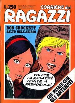 Copertina CORRIERE DEI RAGAZZI 1975 n.18 - CORRIERE DEI RAGAZZI 1975   18, CORRIERE DELLA SERA