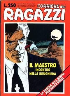 Copertina CORRIERE DEI RAGAZZI 1975 n.27 - CORRIERE DEI RAGAZZI 1975   27, CORRIERE DELLA SERA