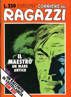 Copertina CORRIERE DEI RAGAZZI 1975 n.32 - CORRIERE DEI RAGAZZI 1975   32, CORRIERE DELLA SERA