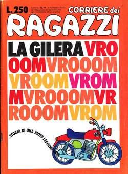 Copertina CORRIERE DEI RAGAZZI 1975 n.44 - CORRIERE DEI RAGAZZI 1975   44, CORRIERE DELLA SERA