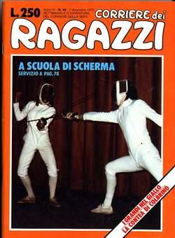Copertina CORRIERE DEI RAGAZZI 1975 n.49 - CORRIERE DEI RAGAZZI 1975   49, CORRIERE DELLA SERA
