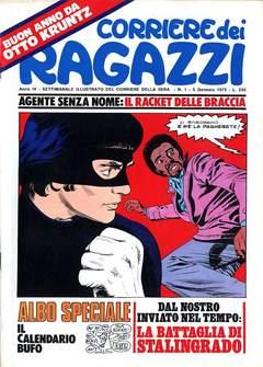 Copertina CORRIERE DEI RAGAZZI 1975 n.1 - CORRIERE DEI RAGAZZI 1975    1, CORRIERE DELLA SERA