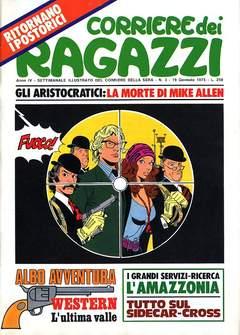Copertina CORRIERE DEI RAGAZZI 1975 n.3 - CORRIERE DEI RAGAZZI 1975    3, CORRIERE DELLA SERA