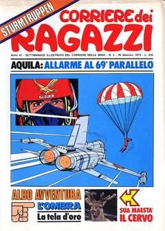 Copertina CORRIERE DEI RAGAZZI 1975 n.4 - CORRIERE DEI RAGAZZI 1975    4, CORRIERE DELLA SERA