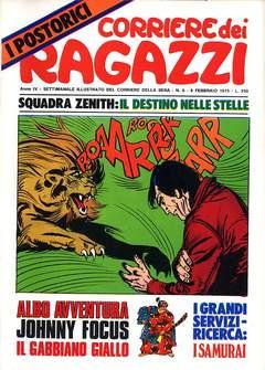 Copertina CORRIERE DEI RAGAZZI 1975 n.6 - CORRIERE DEI RAGAZZI 1975    6, CORRIERE DELLA SERA