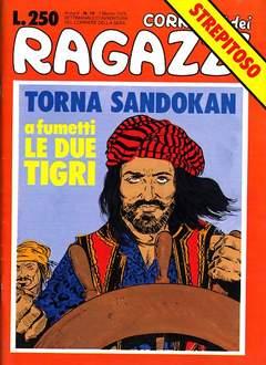 Copertina CORRIERE DEI RAGAZZI/BOY 1976 n.10 - CORRIERE DEI RAGAZZI/BOY    10, CORRIERE DELLA SERA