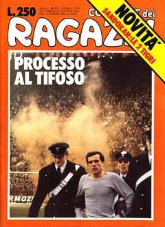 Copertina CORRIERE DEI RAGAZZI/BOY 1976 n.11 - CORRIERE DEI RAGAZZI/BOY    11, CORRIERE DELLA SERA
