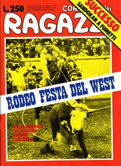 Copertina CORRIERE DEI RAGAZZI/BOY 1976 n.12 - CORRIERE DEI RAGAZZI/BOY    12, CORRIERE DELLA SERA