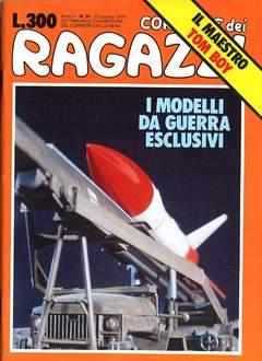 Copertina CORRIERE DEI RAGAZZI/BOY 1976 n.34 - CORRIERE DEI RAGAZZI/BOY    34, CORRIERE DELLA SERA
