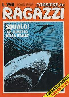 Copertina CORRIERE DEI RAGAZZI/BOY 1976 n.3 - CORRIERE DEI RAGAZZI/BOY     3, CORRIERE DELLA SERA