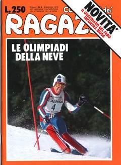 Copertina CORRIERE DEI RAGAZZI/BOY 1976 n.6 - CORRIERE DEI RAGAZZI/BOY     6, CORRIERE DELLA SERA