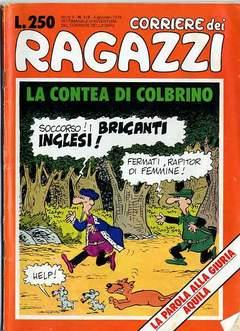Copertina CORRIERE DEI RAGAZZI/BOY 1976 n.1 - NUMERO 1/2, CORRIERE DELLA SERA