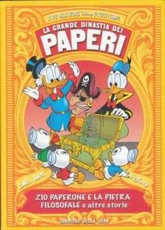 Copertina GRANDE DINASTIA DEI PAPERI n.10 - ZIO PAPERONE E LA PIETRA FILOSOFALE, CORRIERE DELLA SERA