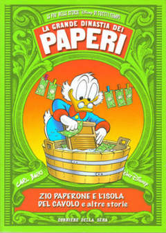 Copertina GRANDE DINASTIA DEI PAPERI n.9 - ZIO PAPERONE E L'ISOLA DEL CAVOLO, CORRIERE DELLA SERA
